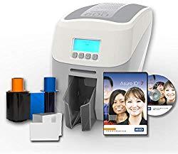 Magicard 600 Dual Sided ID Card Printer & Supplies Bundle (3652-5021)