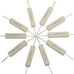 10Pcs Ceramic Cement Power Resistors 330 Ohm 10W Watt 5%