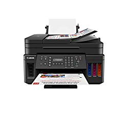 Canon PIXMA G7020 Wireless All-in-One Supertank Printer, Copier, Scan and Fax