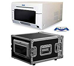 DNP DS620A Compact Professional Event & Photo Booth Portrait Digital Printer with Odyssey Innovative Designs Flight Zone Hard Case (Black/Chrome)