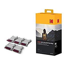 Kodak Mini 2 Photo Printer Cartridge MC All-in-One Paper and Color Ink Cartridge Refill – Compatible with Mini Shot Camera, Mini 2 Printer (Not Original Mini) 50 Pack (Packaging may vary)