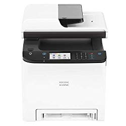 Ricoh M C250FWB Digital Color Multifunction Laser Printer, 25 Color ppm, 600×600 dpi, Standard 250 Sheets Input Tray – Print, Copy, Scan, Fax