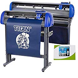 USCutter 28″ Titan 3 Vinyl Cutter with Servo Motor & ARMS Contour Cutting Plus Design/Cut Software
