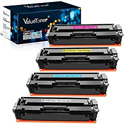 Valuetoner Compatible Toner Cartridge Replacement for HP 201X 201A CF400X CF401X CF402X CF403X CF400A for Color Laserjet Pro MFP M277dw M252dw M277n M277c6 M252n M277 (Black, Cyan, Magenta, Yellow)