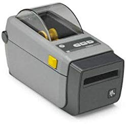 Zebra, ZD41022-D01000EZ AIT, DT Printer ZD410, 2″ Print Width, Standard EZPL, 203 DPI, US Cord, USB, USB Host, Modular CONNECTIVITY Slot
