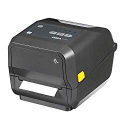 Zebra – ZD420t Thermal Transfer Desktop Printer for Labels and Barcodes – Print Width 4 in – 203 dpi – Interface: Bluetooth, Ethernet, USB – ZD42042-T01E00EZ