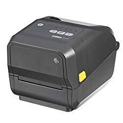 Zebra – ZD420t Thermal Transfer Desktop Printer for Labels and Barcodes – Print Width 4 in – 300 dpi – Interface: USB – ZD42043-T01000EZ