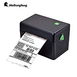 Meihengtong Label Printer, 150mm/s High Speed Thermal Printer – Compatible with UPS, FedEx, Amazon, Ebay, Etsy, Shopify – Barcode Printer, 4×6 Printer